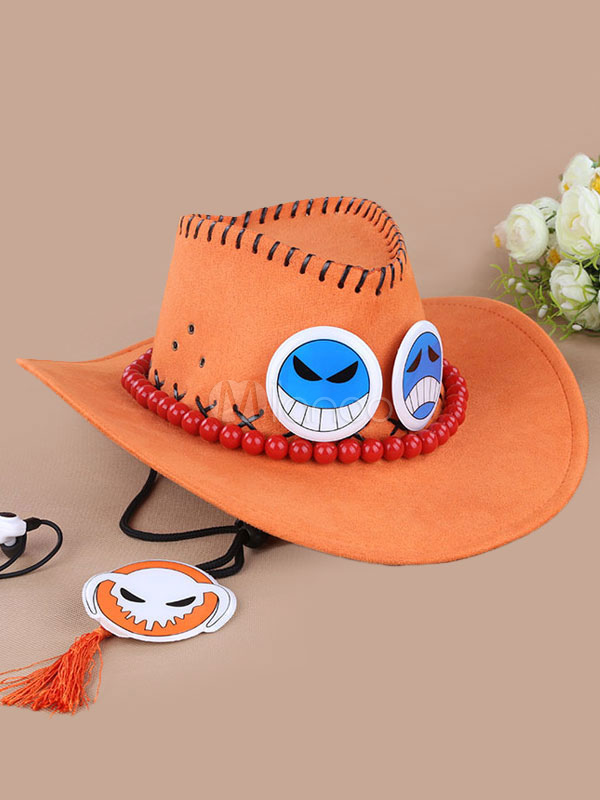 One Piece Ace Halloween Cosplay Hat Portgas D Ace Hat Halloween