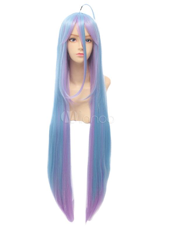 Buy No Game No Life Anime Shiro Cosplay Wig Halloween for $24.29 in Milanoo store