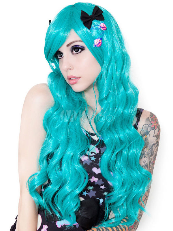 Spiral Curls Cosplay Long Carnival wig Cheap clothes, free shipping worldwide