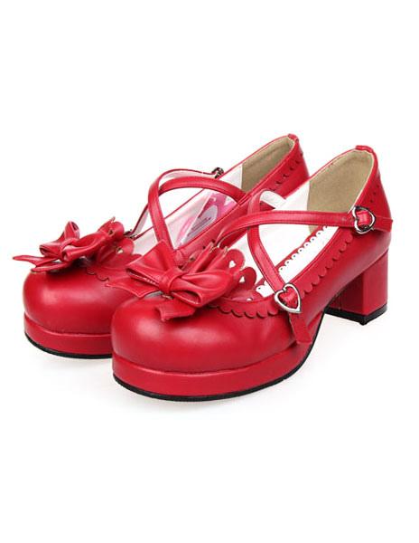 Bow Decor Lolita Shoes