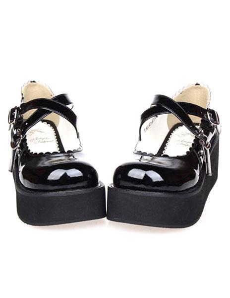 Platform Buckled Lolita Shoes