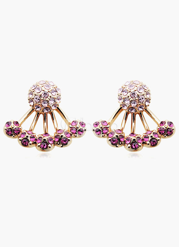 Buy Sparkling Rhinestone Ear Jacket for $4.79 in Milanoo store