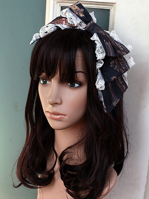 Buy Exclusive Lolita Bow Headdress for $14.39 in Milanoo store