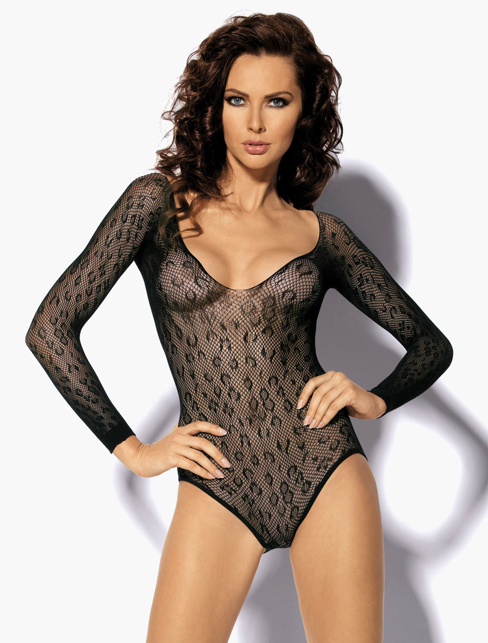 Buy Semi-Sheer Low Back Body for $7.64 in Milanoo store