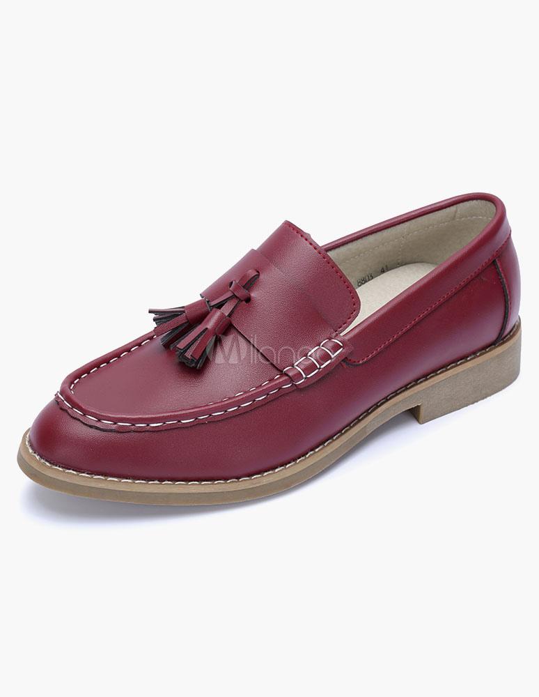 Zapatos de pu con adornos colgados de moda for Zapateros colgados