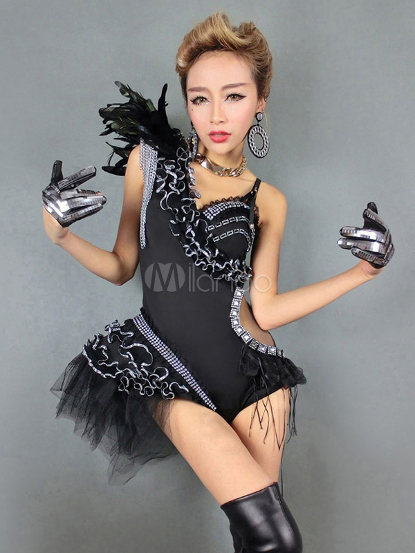 Black jazz dresses