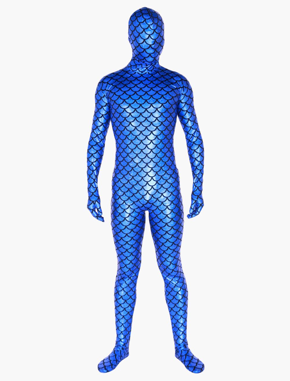 Plaid Pattern Unisex Zentai Suits Halloween