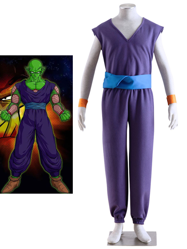 Dragon Ball Bick Archenemy Halloween Cosplay Costume  Halloween