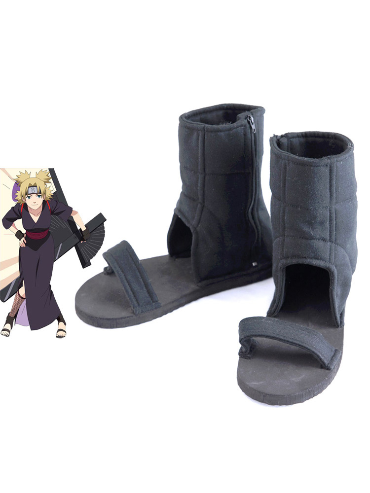 Buy Naruto Temari Cosplay Shoes Halloween for $11.69 in Milanoo store