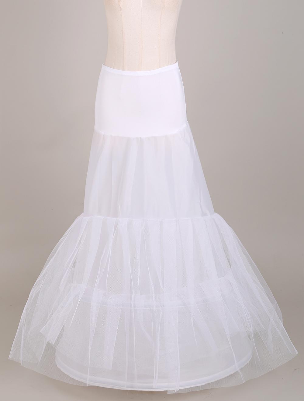 Trumpet Style Bridal Slip with Elastic Waist