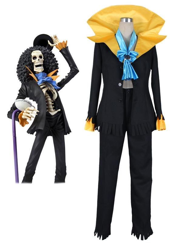 One Piece Brook Halloween Cosplay Costume Halloween
