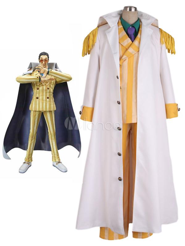 Buy One Piece Kprusoian Halloween Cosplay Costume One Piece Marines Cosplay Halloween for $143.99 in Milanoo store