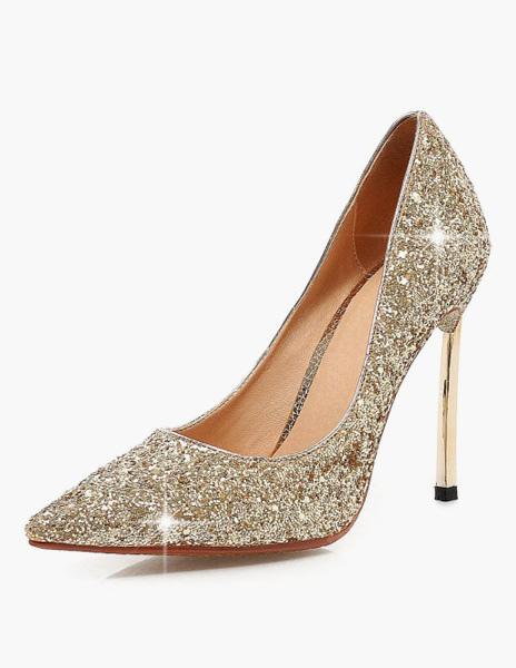 Buy Stiletto Heel Pointy Toe Heels for $53.99 in Milanoo store
