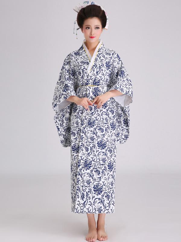 fb8a4cacc47bb أزياء كيمونو ياباني متعدد الألوان النسائية - Milanoo.com
