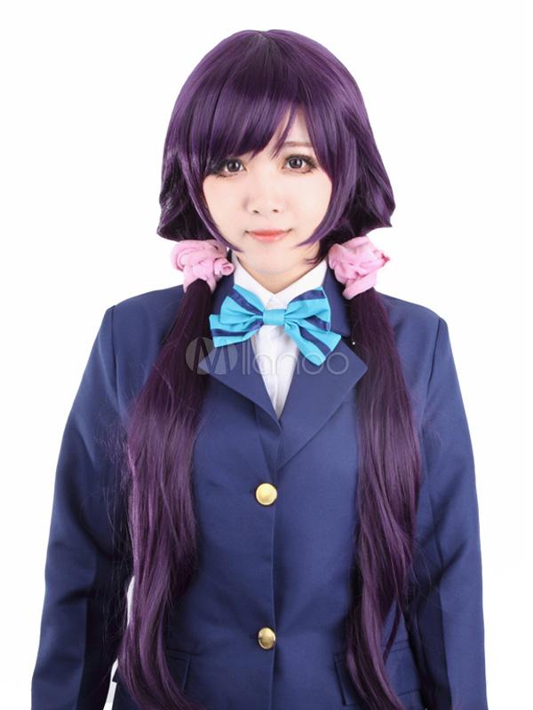 Love Live! Tojo Nozomi Cosplay Wig (Headwear isn't included) Halloween