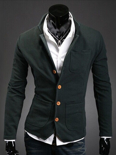 Daily Cotton Blend Casual Jacket