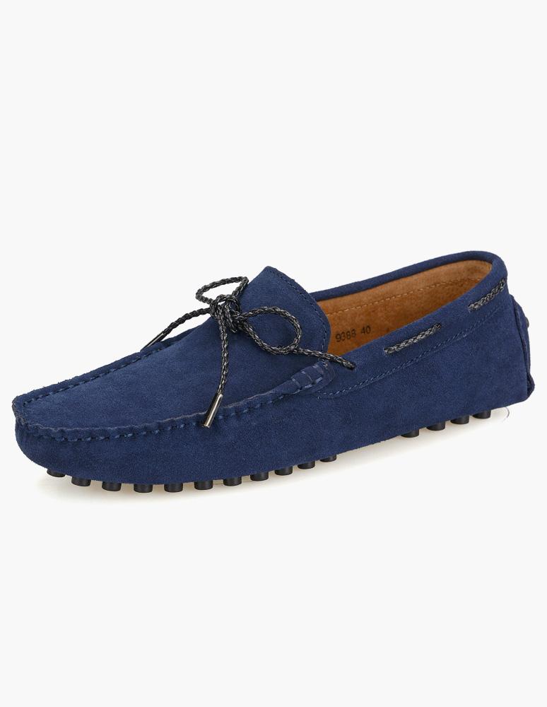 Milanoo / Men's Suede Leather Men's Loafer Shoes