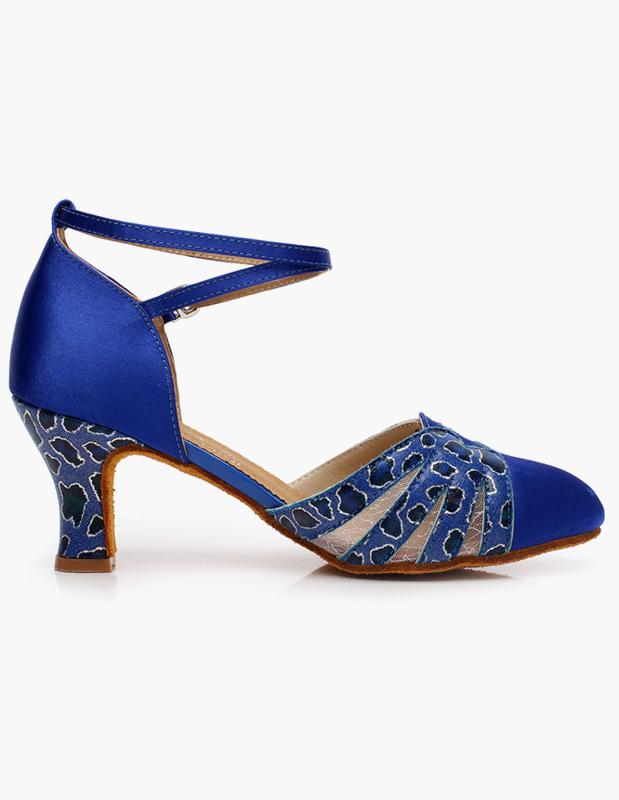 Azul Royal tobillo correa calidad zapatos ubLFUA4