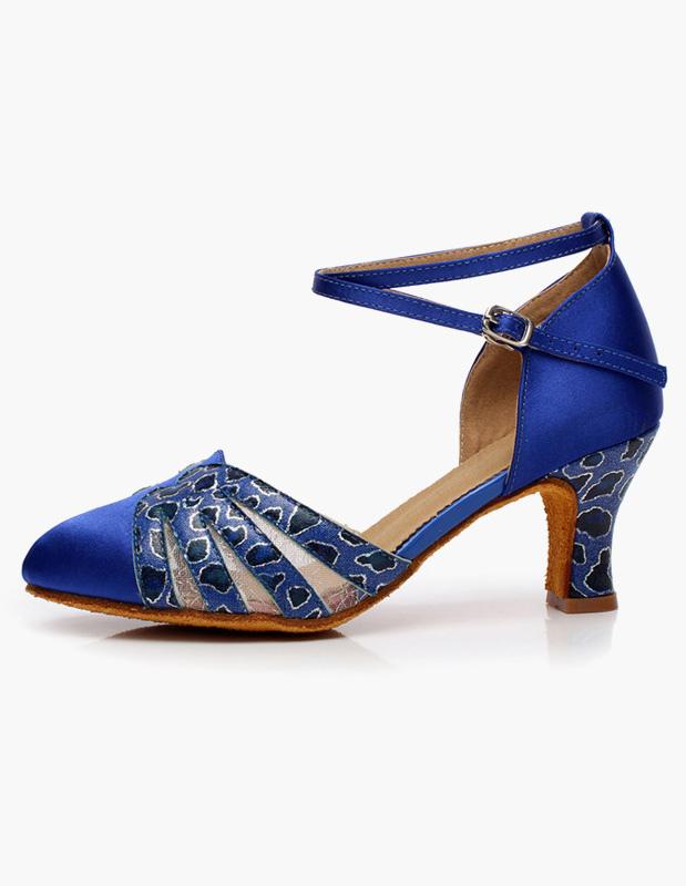 Azul Royal tobillo correa calidad zapatos 0IEw3