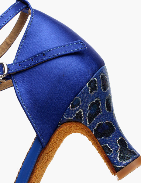 Azul Royal tobillo correa calidad zapatos 1GLRuabD9Q