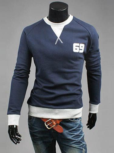 Buy Cotton Blend Sweatshirt for $30.59 in Milanoo store