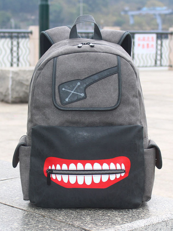 Buy Tokyo Ghoul Anime Backpack Halloween for $26.99 in Milanoo store