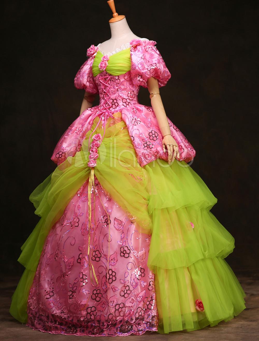 Rosa Prinzessin Kleid Damen Großhandel Rosa Prinzessin Kleid Damen ...