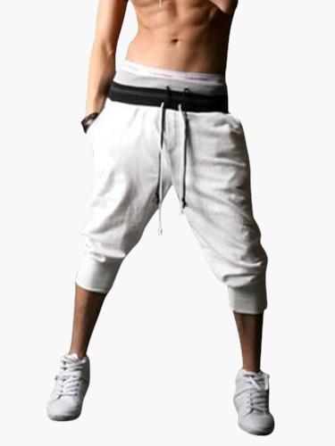 Shaping Elastic Waist Cotton Shorts