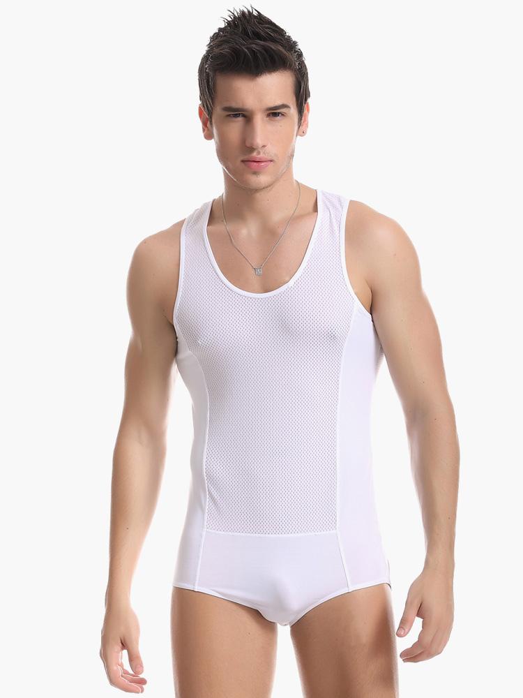 Sexy Nylon Man's Undershirt