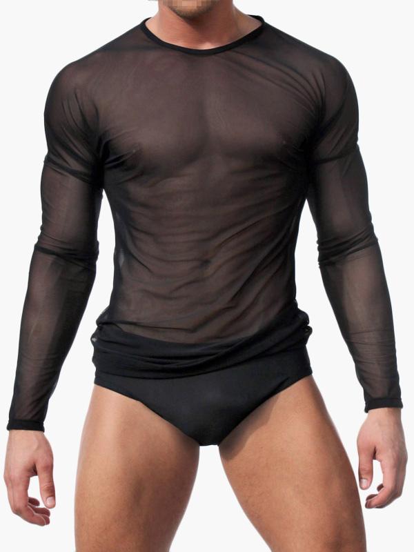 Nylon Sexy Panties For Men