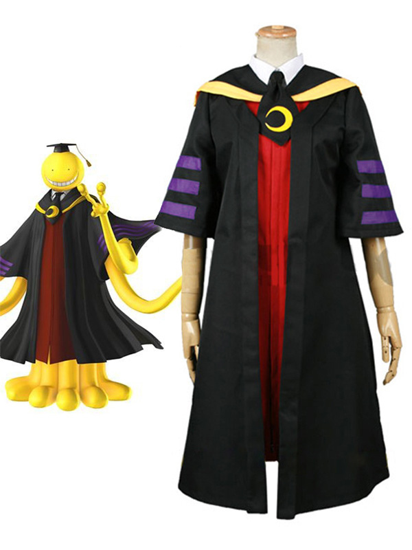 Assassination Classroom Class 3-E Teachers Koro-sensei Cosplay Costume Halloween