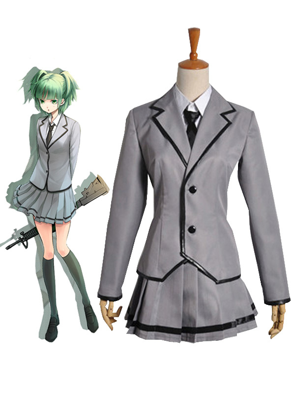 Buy Assassination Classroom Kunugigaoka Junior High School Class 3-E Girl's School Uniform Cosplay Costume Halloween for $79.79 in Milanoo store