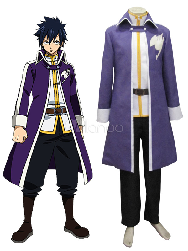 Fairy Tail Gray Fullbuster Cosplay Costume Halloween
