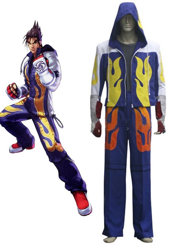 6 Cosplay Carnevale Jin Costume Tekken Gioco Kazama 1lKTFJc