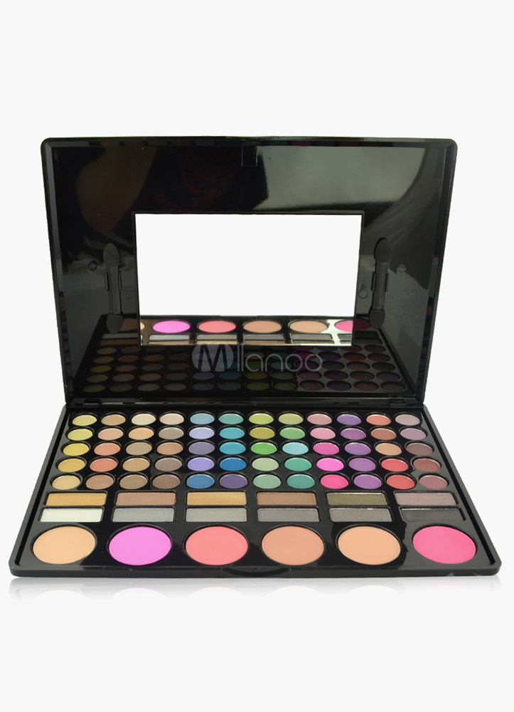 Amazing Classical 78-Color Eye Shadow/ Blusher/Bronzers Make-Up Disc With Mirror Cheap clothes, free shipping worldwide