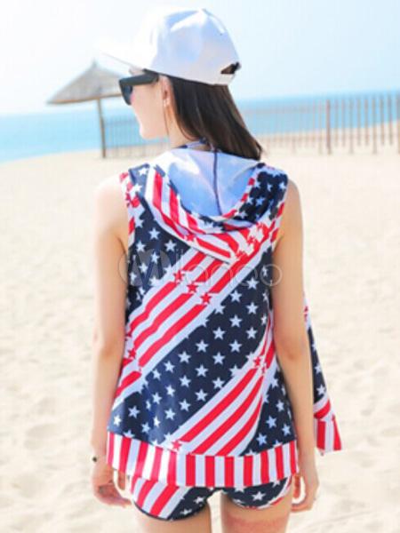 Multi colore bandiera halter costumi da bagno due pezzi for Costumi due pezzi piscina