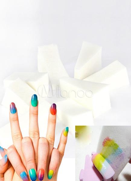 10-Pcs Gradient Nail Art Sponge Sets