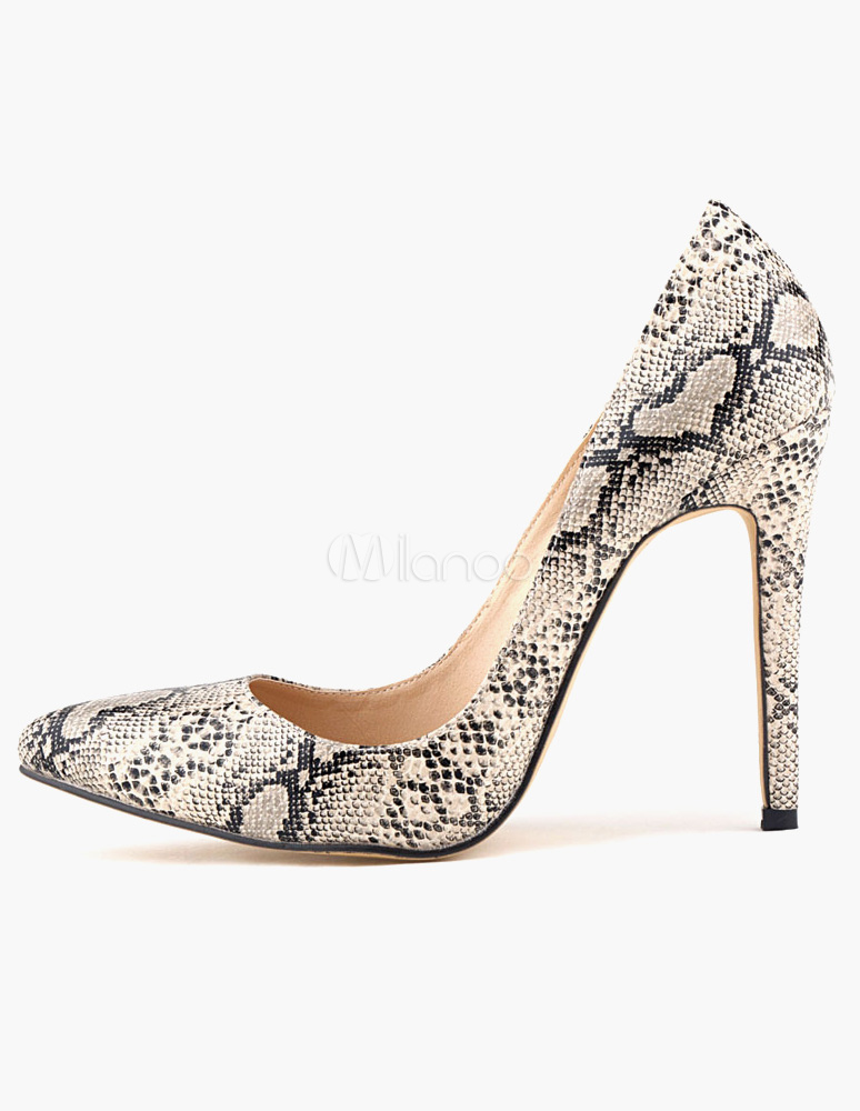 Buy Charming Stiletto Heel Patent PU Women's Pointy Toe Heels for $38.24 in Milanoo store
