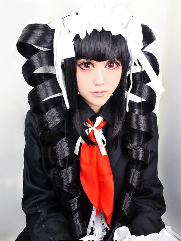 Danganronpa Celestia Ludenberg Halloween Cosplay Wig Halloween