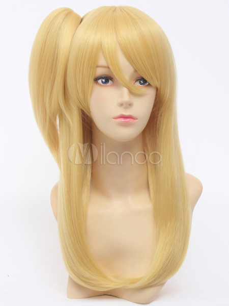 Fairy Tail Lucy Heartphilia Cosplay Wig Halloween
