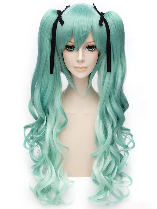Vocaloid Snow Miku Cosplay Wig Halloween