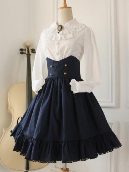 Gothic Lolita Dress Cross Regression Victorian Vintage Sk