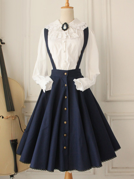 Classical Lolita Dress Cross Regression Jsk Lolita Jumper