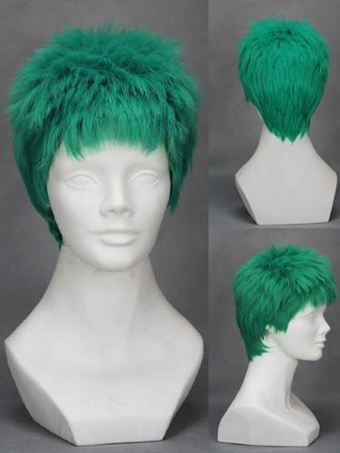 Buy One Piece Roronoa Zoro Cosplay Wig Halloween for $19.99 in Milanoo store