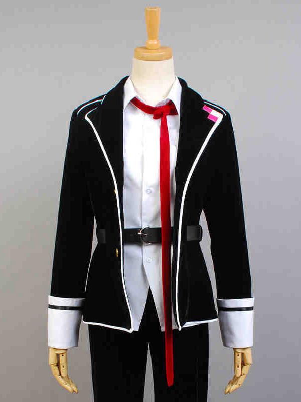 Diabolik Lovers Sakamaki Ayato Halloween cosplay costume Sash  Halloween