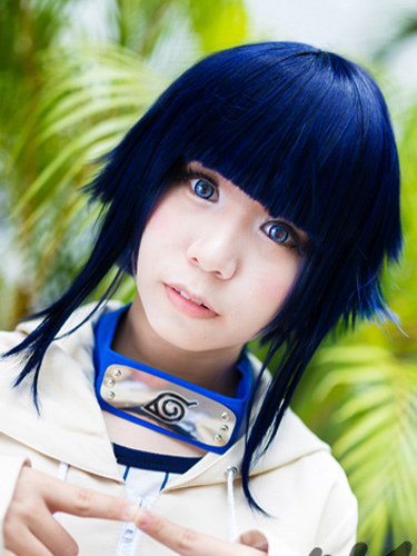 Buy Naruto Hyuuga Hinata Halloween Cosplay Wig Heat-resistant Fiber Halloween for $16.79 in Milanoo store