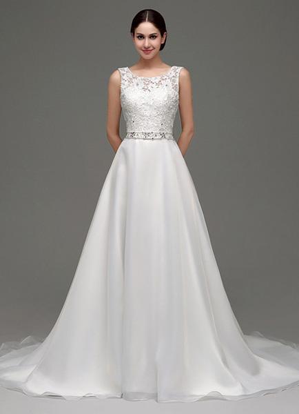 Vestidos de novia sencillos para verano
