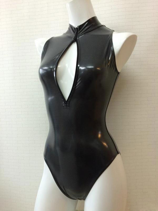 Anime Sexy Moe Girls Open Chest Swimsuit Cosplay Costume
