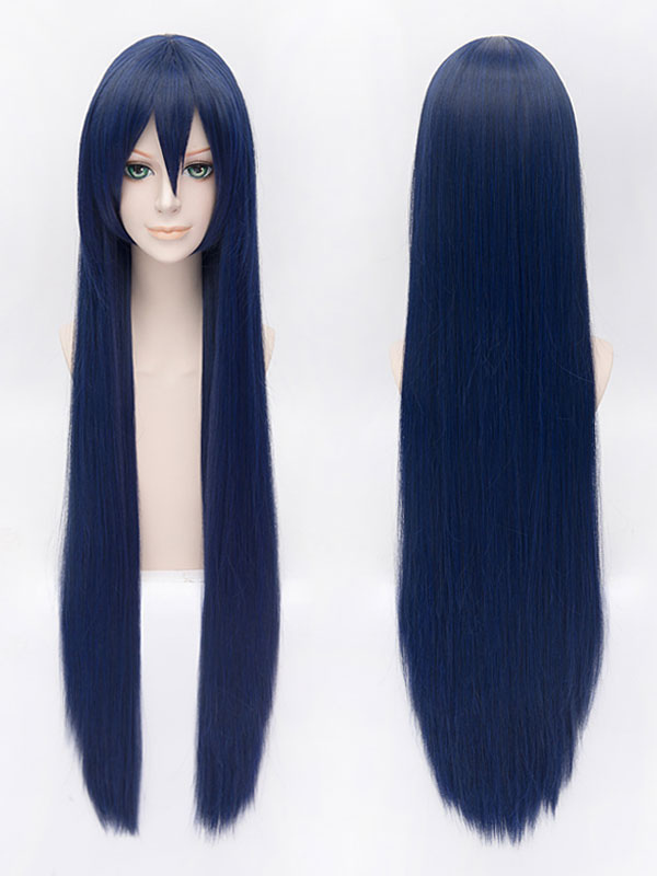 Buy LoveLive! Sonoda Umi Fiber Cosplay Wig Blue Long Heat-resistant Fiber Wig Halloween for $18.00 in Milanoo store