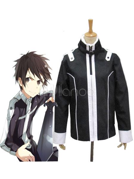 Cappotto nero per cosplay di Kirito ispirato da Sword Art Online